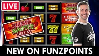 ⋆ Slots ⋆ LIVE and BACK Playing on PlayFunzpoints ⋆ Slots ⋆ Cherry Master Deluxe! #ad