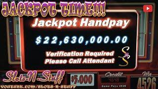 AMAZING 232X Win High Limit Slot Play jackpot !