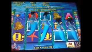 Magic mermaid slot machine awesome bonus win