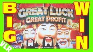 GREAT LUCK GREAT PROFIT - BIG WIN - Slot Machine MAX BET BONUS