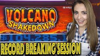 RECORD BREAKING SESSION on Volcano Shakedown at Wind Creek!