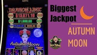 LAST SPIN THEN THIS HAPPENED!! My BIGGEST JACKPOT on Dragon Links Autumn Moon! MEGA JACKPOT! S1E2