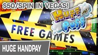 ⋆ Slots ⋆ HOLY HUFF N' PUFF! ⋆ Slots ⋆ $50/Spin HIGH-LIMIT JACKPOT on the LAS VEGAS STRIP