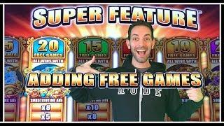 Brian gets 2 SUPER FEATURES on 5 Frogs Slot Machine  • Brian Christopher Slots