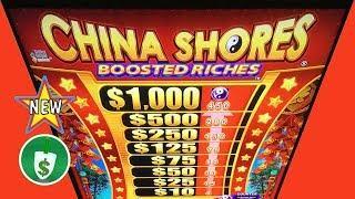 •️ New - China Shores Boosted Riches slot machine, bonus