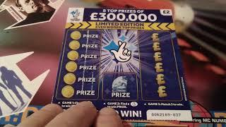 The Big Scratchcard Game..Lots of Cards...and Winners...£50.00 worth.New Blue £300,000..etc