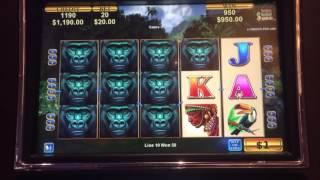 African Diamond **HANDPAY** high limit slots 3 videos
