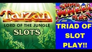 WOW! TARZAN, 5 Treasures and SUPER WHEEL BLAST all In ONE!,