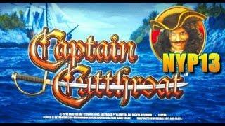 Aristocrat - Captain Cutthroat Slot Line Hits&Bonus