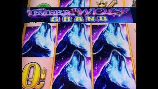 •NEW ! TIMBER WOLF GRAND•TIMBER WOLF LOVER 13•1st Attempt on Timber Wolf GRAND Slot machine @Cosmo 栗