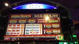 LIVEPLAY - HUGE Double Jackpot Machine - MAX BET $5/SPIN