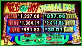 Huge 250x Max Bet win on Red Hot Tamales!!! @San Manuel Casino