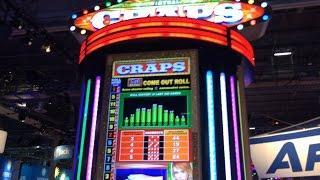 Aruze Craps Slot Machine (G2E)
