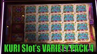 •KURI Slot's VARIETY PACK 4•FUN & WIN Slots $$$ Sacred Guardians/Mine /Fire Pearl/Fortune King DX$$$