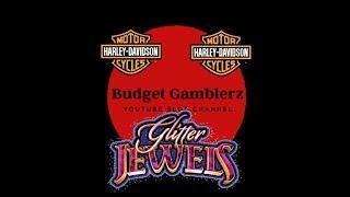 HARLEY DAVIDSON Wheel Bonus ~ GLITTER JEWELS: STACKED UP ~ Live Slot Play @ San Manuel
