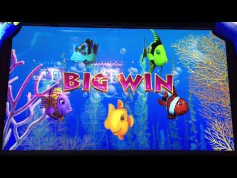 *BIG WIN* Gold Fish 3 Slot Machine Red Fish Bonus