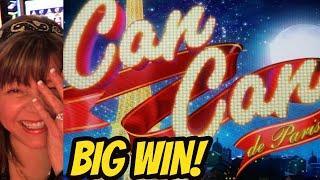 BIG WIN! CAN CAN DE PARIS & THUNDER CASH BONUS