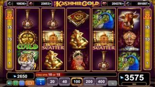 Kashmir Gold slot - 4,775 win!