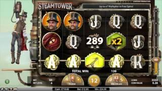 Inspired By Trono Fruit Slots £1000 Start Steam Tower