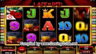 All Slots Casino Lady in Red Video Slots