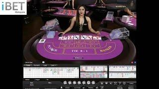 iPT - Mini Baccarat Newtown Online Casino, Game Permainan Play in iBET Malaysia Genting