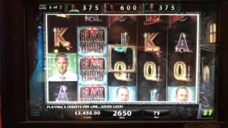 Black Widow Bonus Big Win!!!