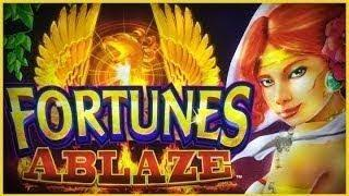 Fortunes Ablaze Slot - GREAT SESSION - Live Play Bonus!
