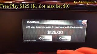 GEMS Slot Machine with Free Play $125, Dollar Slot Max Bet $9, Pechanga Casino, Akafujislot