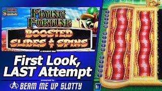 Flying Fortune Boosted Slides and Spins Slot - First Look at New Konami sequel