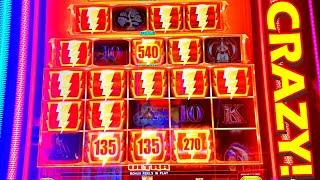 THIS GAME MADE ME GO CRAZY WITH 5 DOLLAR BETS!!! - New Las Vegas Slots Casino Slot Machine Bonus