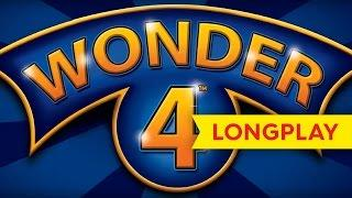 Wonder 4 Slot - Buffalo, Pompeii, Wild Patagonia, Wild Splash & Indian Dreaming - BIG WIN LONGPLAY!