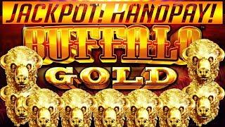 •️•️ MASSIVE HANDPAY! BUFFALO GOLD SLOT MACHINE JACKPOT! $3.60 MAX BET! OVER 100 FREE SPINS •️•️