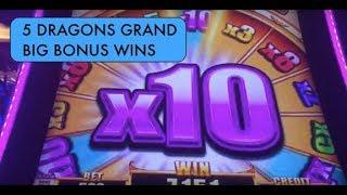 5 Dragons Grand - Big Bonus Wins!