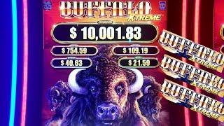 •G2E 2018• NEW Buffalo XTREME Slot Machine PREVIEW w/NG Slot | Global Gaming Expo 2018