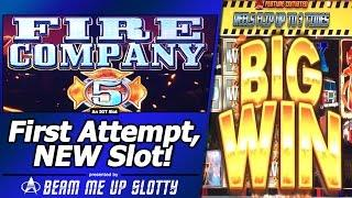 Fire Company 5 - First Attempt, Nice Hits in New 4D Slot by IGT