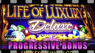 Beir Haus Slot Machine - With Life Of Luxury Progressive Super Big Win