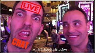 • LIVE CHAT with Casino n Slots Host, Brian Christopher • BCSlots.com • Slot Fruit Pokie Machines