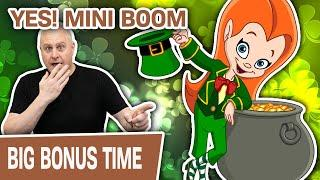 ⋆ Slots ⋆ YES! MINI BOOM on Lucky Leprechaun ⋆ Slots ⋆ Crystal Star Deluxe HIGH-LIMIT Slot Action