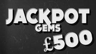 Jackpot Gems £500 Jackpot Slot LIVE PLAY