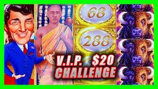 $20 PAYLINES VIP CHALLENGE ⋆ Slots ⋆ YouTube & Patreon Members select the slots I played in Reno!  ⋆ Slots ⋆