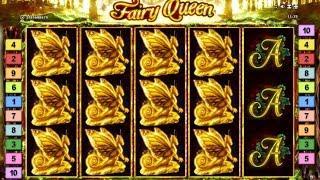 Fairy Queen slot bonus round Re-Triggers - €2 - Novomatic