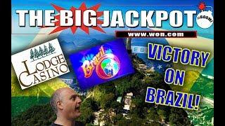 Hand Pay On The Brazil Slot Machine For Over A Thousand Dollars! •