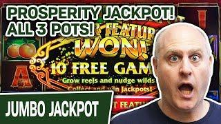 ★ Slots ★ Prosperity JACKPOT! ★ Slots ★ Won ALL 3 POTS Playing Fu Dai Lian Lian: Panda