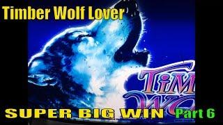 •SUPER BIG WIN•Timber Wolf Lover Part 6•Timber Wolf & Timber Wolf Deluxe Slot machine /$2~$2.50 Bet