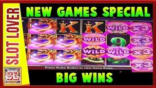 ** 5 New Games Reviewed ** Big Wins ** Max Bet ** Slot Lover **