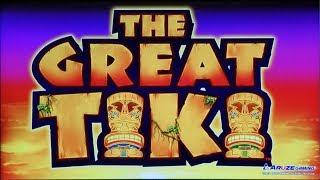 HUGE SHOCKING WIN on New Game THE GREAT TIKI SLOT POKIE + FABLED FOUR + MORE - PECHANGA