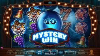 Wicked Circus Slot Features & Game Play - by Yggdrasil