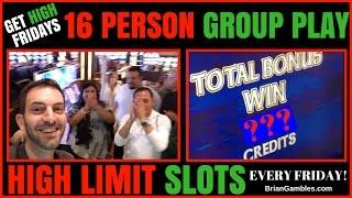 16 Person HIGH LIMIT Group Pull • GET HIGH FRIDAYS • EVERY FRIDAY - San Manuel Casino SoCal •