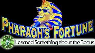Pharaoh's Fortune slot machine, Learned Something about the Bonus