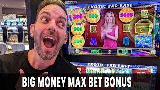 • BIG MONEY Max Bet Bonus! • Wheel of Fortune Cash Link!